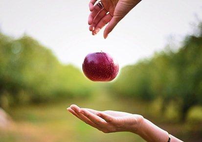 Schwerkraft Konzept in Faszientherapie Rolfing